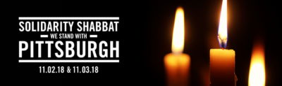 Solidarity Shabbat: We Stand With Pittsburgh @ Goode Chapel of Seifer Community Ctr. bldng.