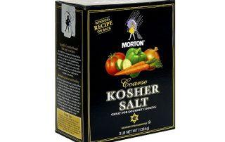 Salt-kosher