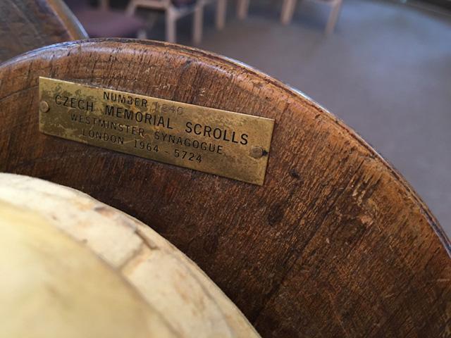 Shoah Scroll 1240 Plate